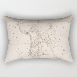 Johann Bayer - Uranometria / Measuring the Heavens (1661) - 33 Orion Rectangular Pillow