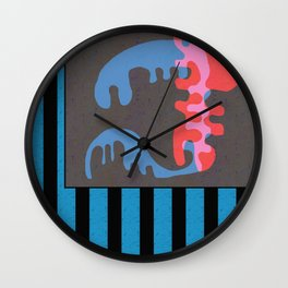 A Picture is Worth a Thousand Words Wall Clock
