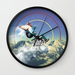 Sky's The Limit Wall Clock
