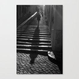 Lisbon Shadow Canvas Print