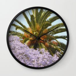 California Spring/Summer Day Wall Clock