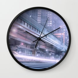 Seconds of memories dipped in darkness Wall Clock