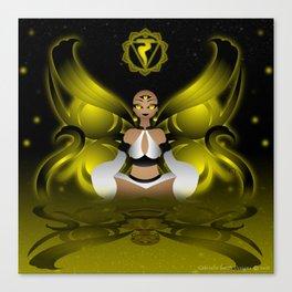 Inner Light: Solar Plexus Canvas Print