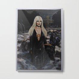 Magia negra Metal Print