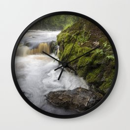 Michigan's Montreal River Wall Clock