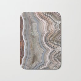 Striped Agate Crystal Bath Mat