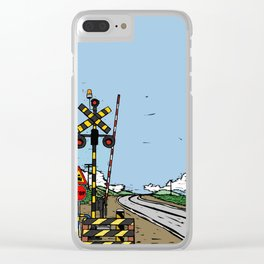 Train way Clear iPhone Case