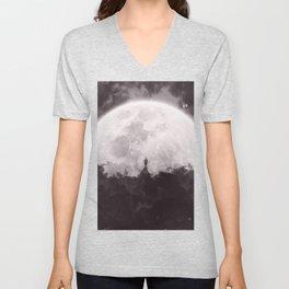 The Moon and I Unisex V-Neck