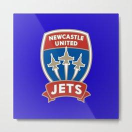 Newcastle Jets Metal Print