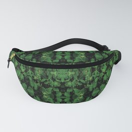 Dark Nature Collage Print Fanny Pack