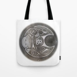Norse Moon Tote Bag