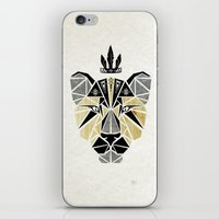 the lion king iPhone & iPod Skins featuring lion king by Manoou