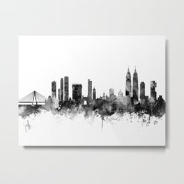 Mumbai Skyline India Bombay Metal Print