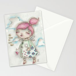 A Hope-Spreading Fairy Stationery Cards