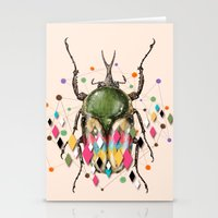 insect Stationery Cards featuring Insect VII by dogooder