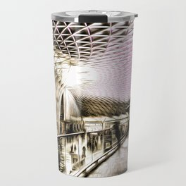 Futuristic London Art Travel Mug