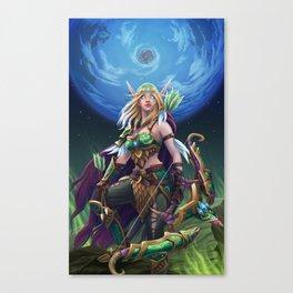 Alleria Canvas Print