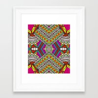 gypsy Framed Art Prints featuring Gypsy by Kimberly McGuiness