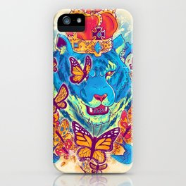 The Siberian Monarch iPhone Case