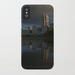 Moody Reflections iPhone Case