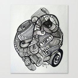 Scrolls  Canvas Print