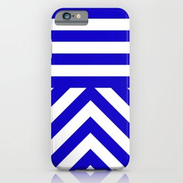 Royal Stripes iPhone Case