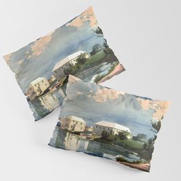Salt Kettle Bermuda 1899 By WinslowHomer | Reproduction Pillow Sham