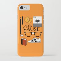 alex vause iPhone & iPod Cases featuring Alex Vause Poster by Zharaoh