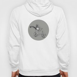 Ride On Chipmunk_grey Hoody