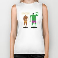 workout Biker Tanks featuring Sweet Workout by Hoborobo
