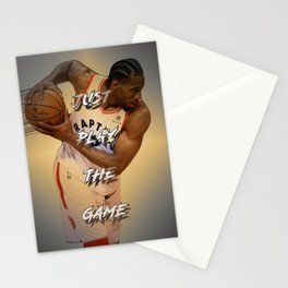 basketball player Stationery Cards