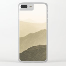 Cali Hills Clear iPhone Case