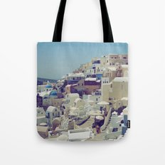 Oia, Santorini, Greece III Tote Bag