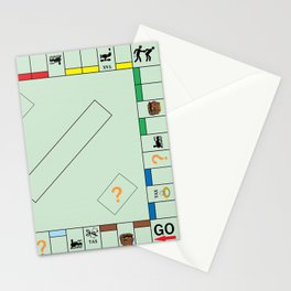 Monopoly Print Currency Game Stationery Cards