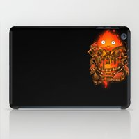 pocket iPad Cases featuring Pocket Calcifer by Natalie