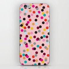 Confetti #3 iPhone & iPod Skin