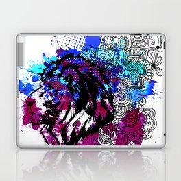 Purple Lion Spirit Laptop & iPad Skin