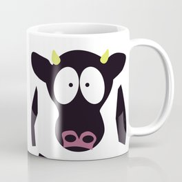 Cow in Cartoon Stlye Coffee Mug