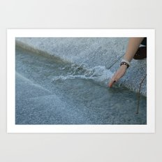 Princess Diana Memorial Art Print