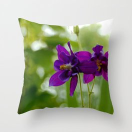 Oh my darlin Columbine Throw Pillow