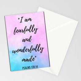 Fearfully and Wonderfully Stationery Cards