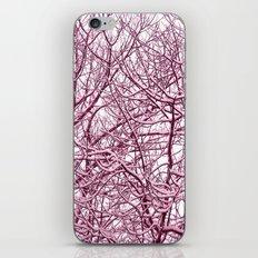 purple winter tree I iPhone & iPod Skin