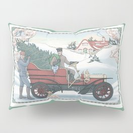Seasons Greetings (from Steve and Bucky) Pillow Sham
