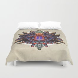 MIXING OF CHINESE FORM (01-fever) Duvet Cover