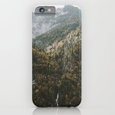 Autumn Waterfall at the Mountain Lake - Landscape Photography Slim Case iPhone 6s