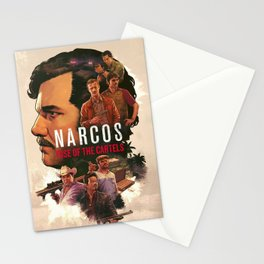 Narcos - rise of the cartels-  Stationery Cards