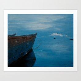 African Waters Art Print