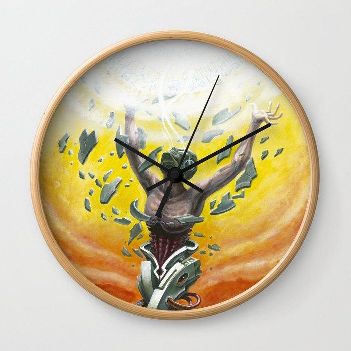 """Invictus"" by Adam France Wall Clock"
