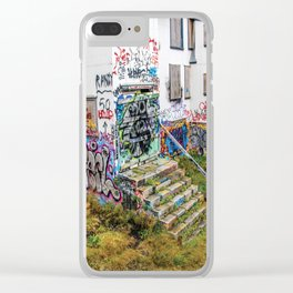 Trap House Clear iPhone Case