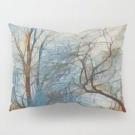 """""""Winter Willow"""" Pillow Sham"""